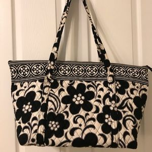 Vera Bradley Night and Day extra large tote bag